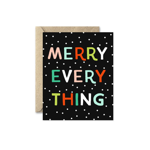 Holiday Card - Merry Everything
