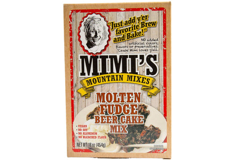 Mimi's Mountain Mixes - Molten Fudge Beer Cake