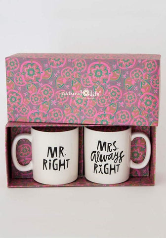 Mrs. Always Right Mug Set