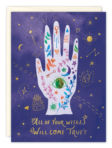 Birthday Card - Mystic Hand