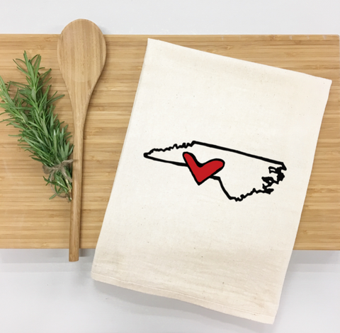 NC Love Kitchen Towel