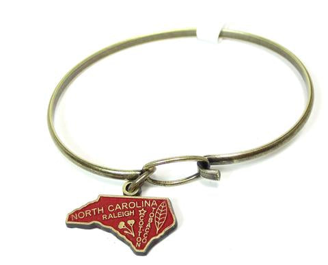 North Carolina Charm Bracelet