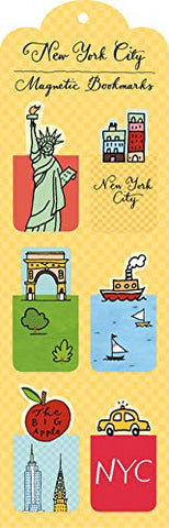 New York City Magnetic Bookmarks
