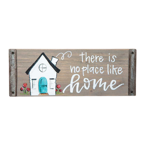 No Place Like Home Block Sign