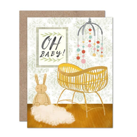 Card - Oh Baby Nursery