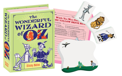 Wizard of Oz Sticky Notes