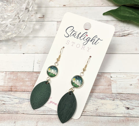 Mountain Sky Dangle Earrings