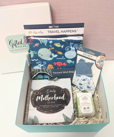 New Baby Gift Box - Whale of a Tale