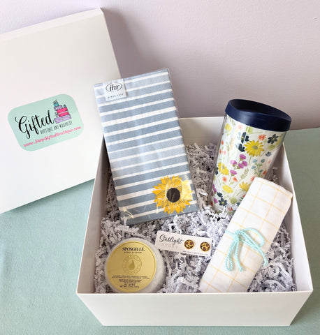 Gift Box - Sunflowers