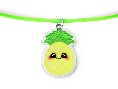 Kawaii Pineapple Necklace