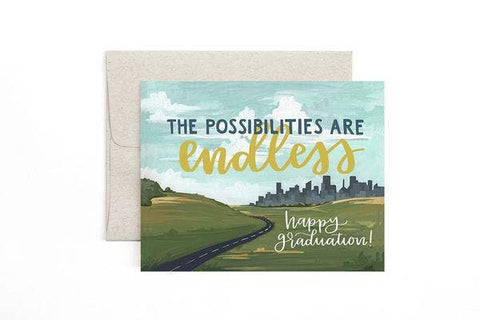 Graduation Card - The Possibilities Are Endless