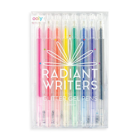 Radiant Writers Glitter Gels Pens