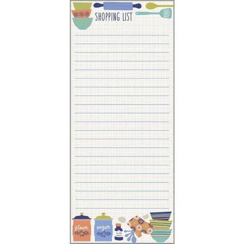 Kitchen List Notepad