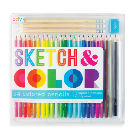 Sketch and Color Pencil Set