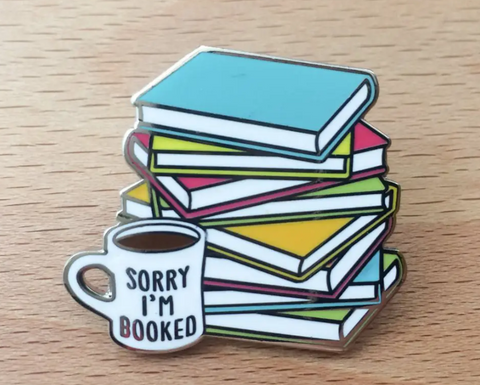 Enamel Pin - Sorry I'm Booked