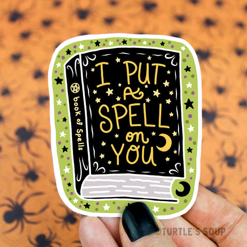 Vinyl Sticker - Spellbook