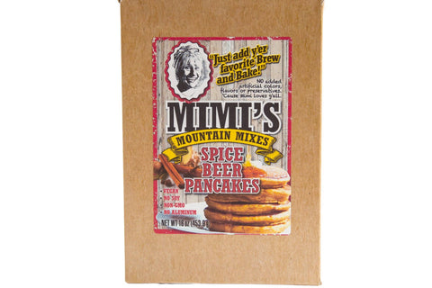 Mimi's Mountain Mixes - Spice Beer Pancakes