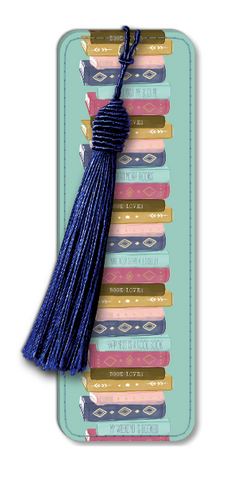 Stacked Books Bookmark