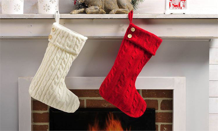 Cable Knit Christmas Stockings.Cable Knit Christmas Stocking Gifted Boutique And Wrappery