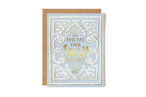 Wedding Card - Storybook Wedding