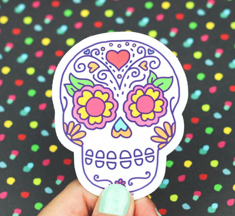 Vinyl Sticker - Sugar Skull
