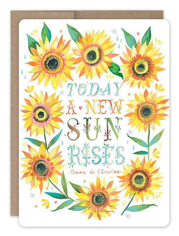 Encouragement Card - Sunflowers