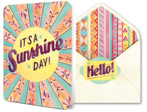 Deluxe Card Set - Sunshine Day