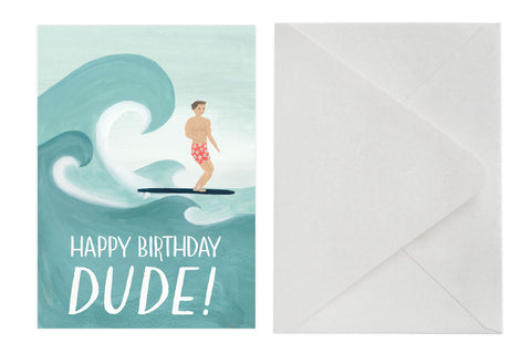 Birthday Card - Happy Birthday Dude!