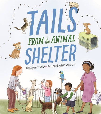 Children's Book - Tails from the Animal Shelter