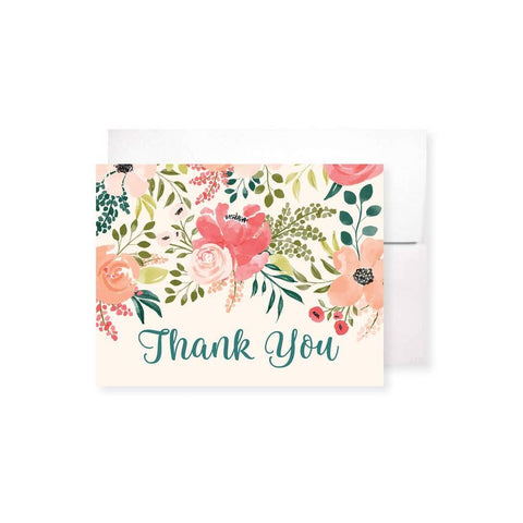 Posey Garden Thank You Card