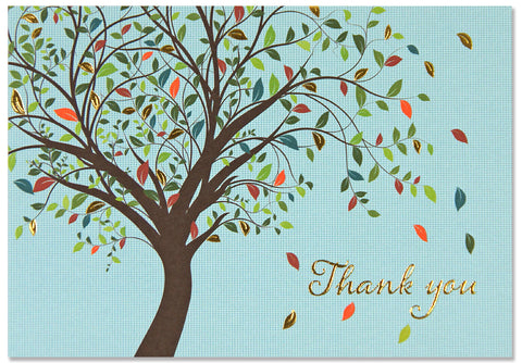 Thank You Notes - Tree