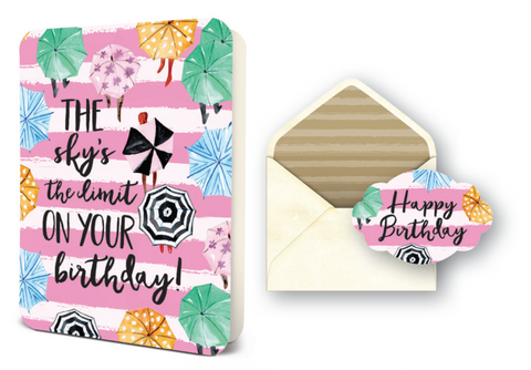 Deluxe Card Set - Birthday - The Sky's the Limit