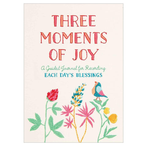 Three Moments of Joy Guided Journal