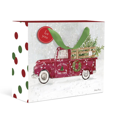 Tree Farm Christmas Gift Bag