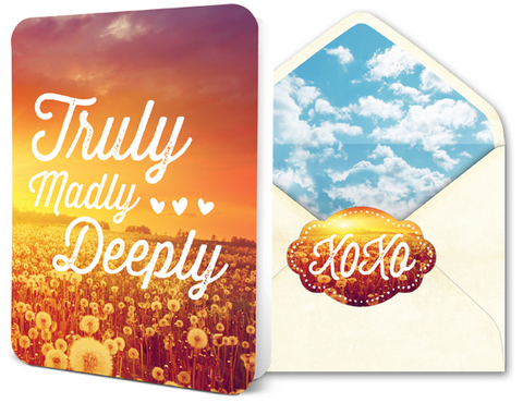Deluxe Card Set - Truly Madly Deeply