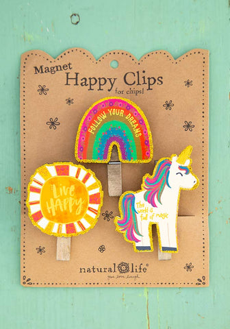 Unicorn Magnetic Clips