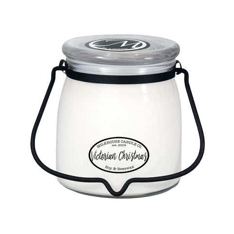 Victorian Christmas 16oz Butter Jar Candle
