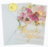 Thank You Card - Watercolor Floral