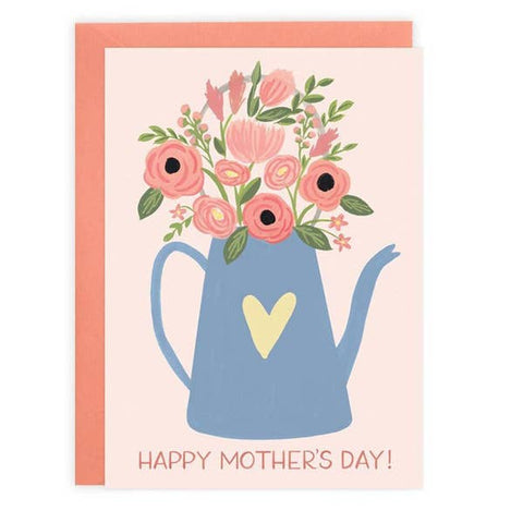 Mother's Day Card - Watering Can