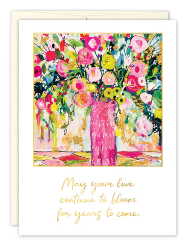 Wedding Card - May Your Love Bloom