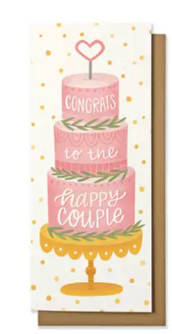 Wedding Money Card - Congrats to the Happy Couple
