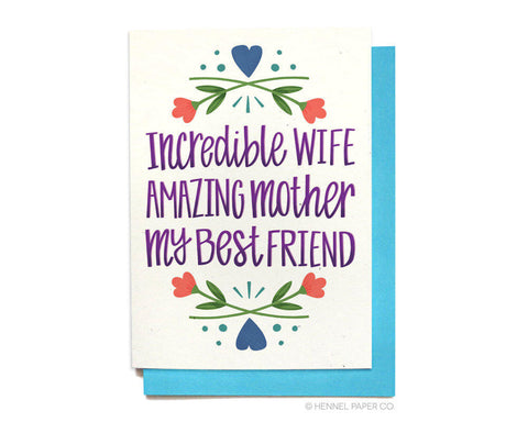 Sweet Card - Incredible Wife