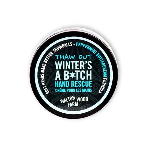 Winter's a Bitch Hand Rescue Cream