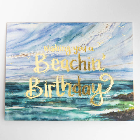 Birthday Card - Beachin'