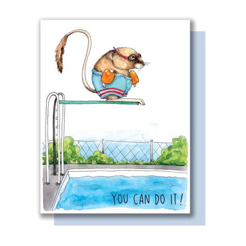Encouragement Card - You Can Do It