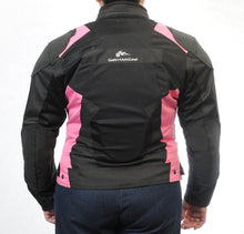 Load image into Gallery viewer, Women's SuperFabric EZ-1 Mesh Jacket in PINK - Slatin MotoGear Motorcycle Gear - 6