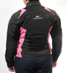 Women's SuperFabric EZ-1 Mesh Jacket in PINK - Slatin MotoGear Motorcycle Gear - 7