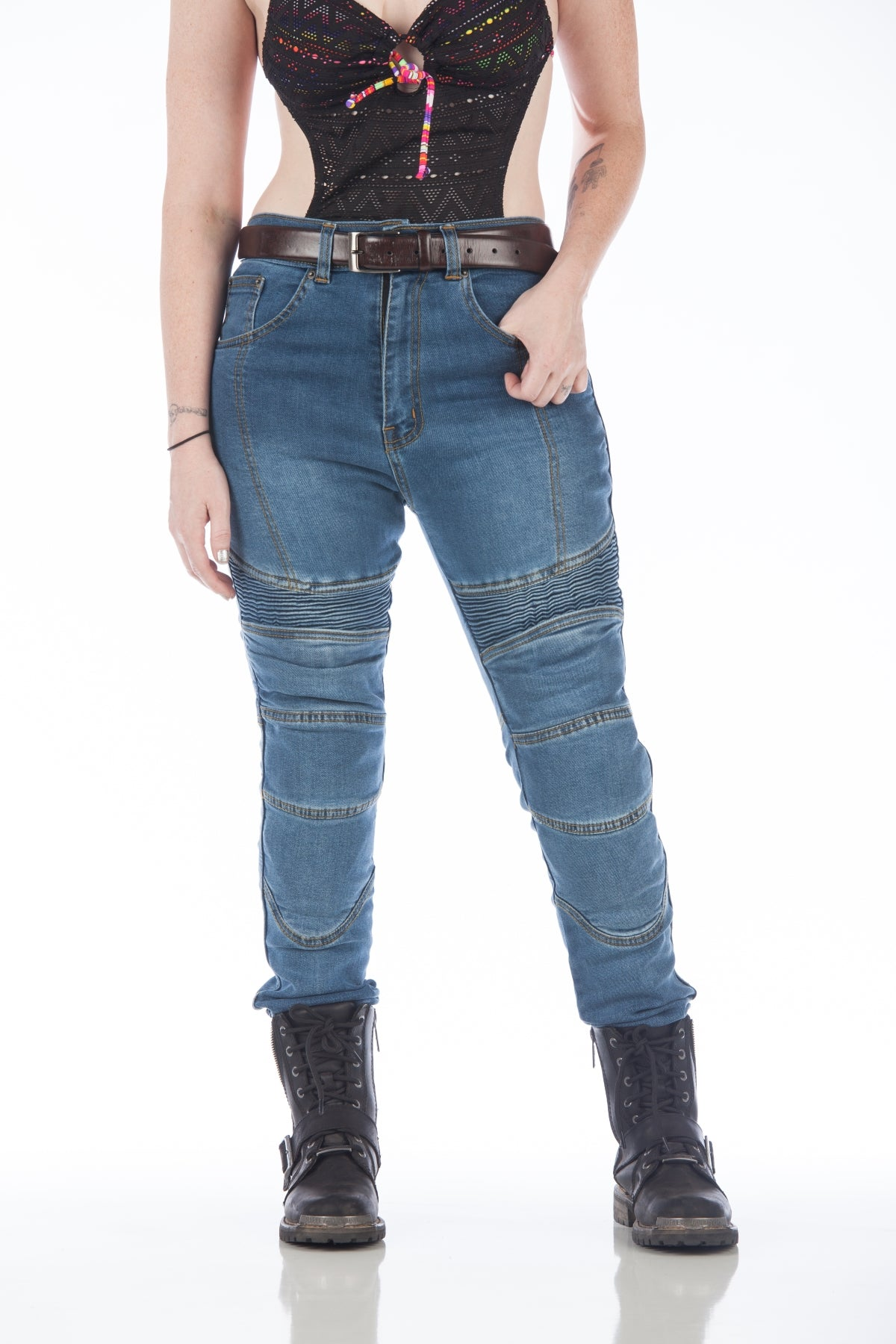 Women's Motorcycle Jeans!