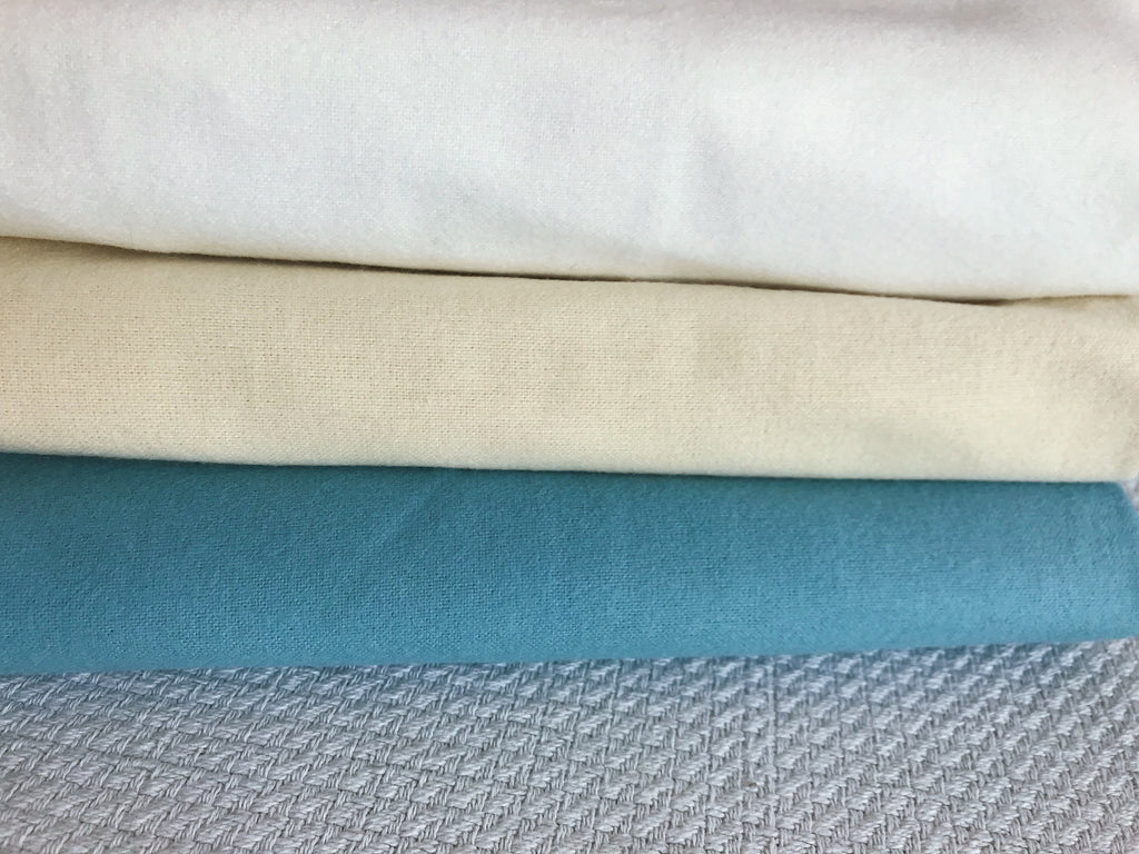 Magnolia Organics Organic Flannel Fitted Crib Sheet