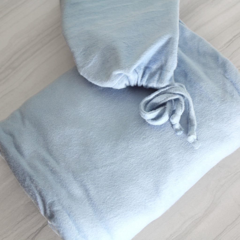Magnolia Organics Fleece Crib Sheet